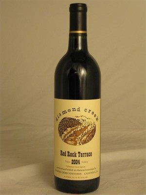 Diamond Creek Cabernet Sauvignon Red Rock Terrace 2006 Napa Valley 14.1% ABV 750ml
