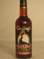 Gosling's Black Seal Bermuda Black Rum 75.5% ABV 750ml