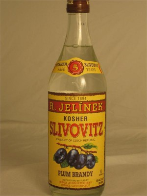 R. Jelinek Slivovitz Plum Brandy Aged 5 Years 50% ABV 750ml Kosher Czech Republic