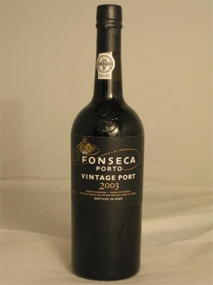 Fonseca Porto Vintage Port 2003 Bottled in 2005 20.5% ABV 750ml