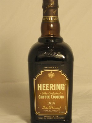 Heering Coffee Liqueur  Denmark 35% ABV 750ml