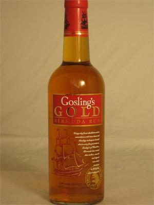 Gosling's Gold Bermuda Rum 40% ABV 750ml