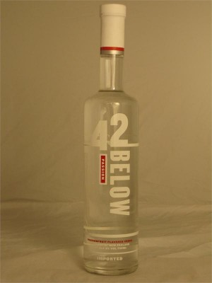 42 Below Passion Vodka 42% ABV 750ml