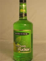 DeKuyper Sour Apple Pucker 15% ABV 750ml