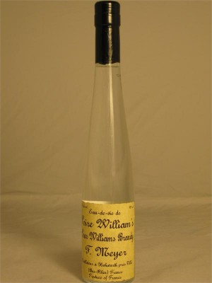 F. Meyer Eau de Vie de Poire Willliam's Pear Williams Brandy  45% ABV 375ml