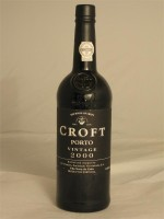 Croft 2000 Vintage Porto 20.5% ABV 750ml