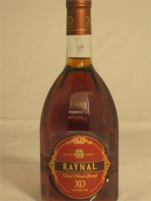 Raynal Finest French Brandy XO 15 Year 40% ABV 750ml