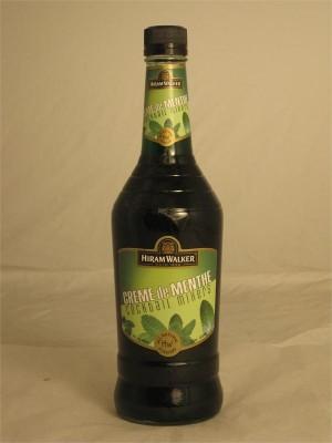 Hiram Walker Green Creme de Menthe Liqueur  15% ABV 750ml