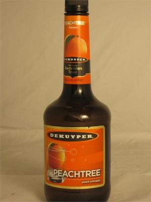 DeKuyper Peachtree Peach Schnapps 15% ABV 750ml
