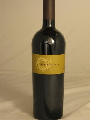 Meander Cabernet Sauvignon Napa Valley St. Helena 2003 14.3% ABV 750ml