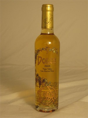 Dolce 2006 Napa Valley Late Harvest Dessert Wine Nickel & Nickel Dolce Winery Oakville 13.8% ABV 375ml