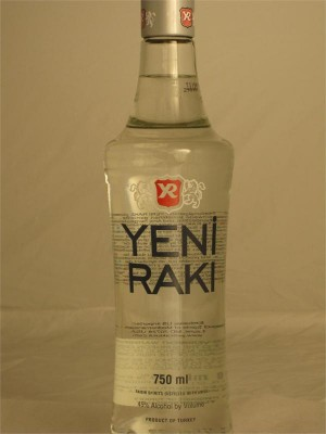 Yeni Raki Turkey  Raisin Spirit Distilled with Anise 750ml