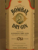 Bombay London Dry Gin 1.75lt