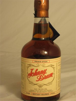 Johnny Drum Private Stock Straight Kentucky Bourbon Whiskey 50.5% ABV 750ml