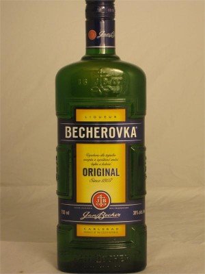 Becherovka  Liqueur Original  750ml 38% ABV