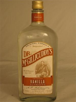Dr. McGillicuddy's  Intense Vanilla Schnapps 24% ABV 750ml