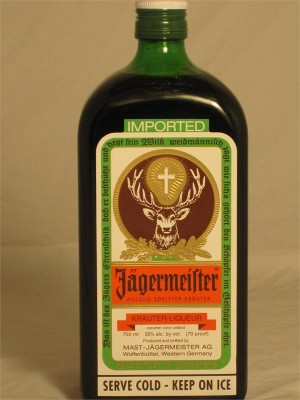 Jagermeister Krauter-Liqueur 35% ABV 750ml