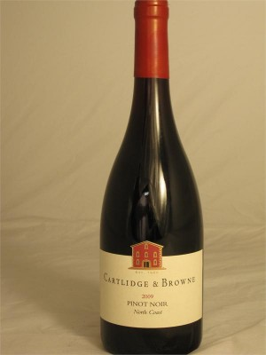 Cartlidge & Browne Pinot Noir Napa County 2014  13.5% ABV 750ml
