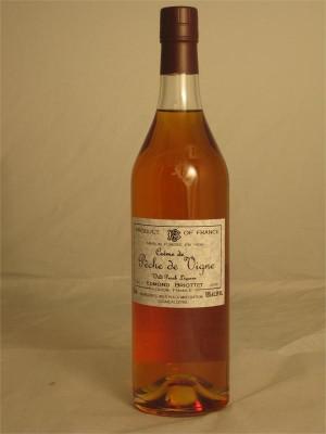 Edmond Briottet  Creme de Peche de Vigne Liqueur Dijon France 25% ABV  750ml
