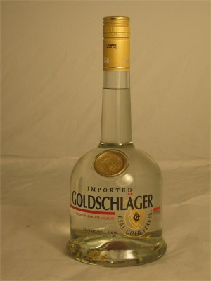 Goldschlager  Cinnamon Schnapps Liqueur with Gold Flakes Italy 43.5% 750ml