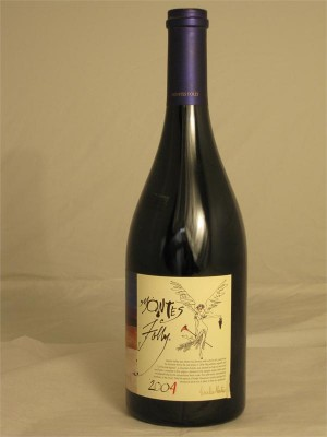 Montes Folly 100% Syrah 2004 15% ABV 750ml