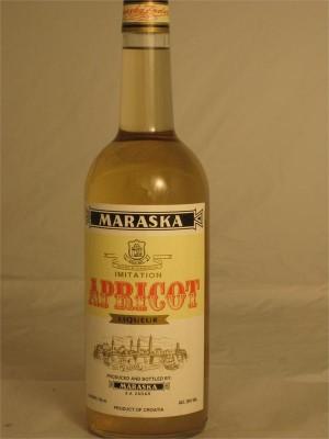Maraska Apricot Liqueur Croatia 28% Abv 750ml