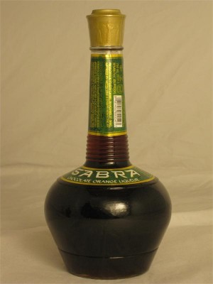 Sabra Chocolate Orange Liqueur 30% ABV 750