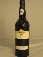 Dow's Tawny Porto 30yr  20% ABV 750ml