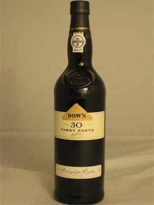 Dow's Tawny Porto 30yr  20% ABV 750ml