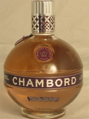 Chambord  Raspberry Flavored Vodka France 37.5% ABV 750ml