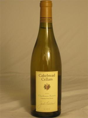 Cakebread Chardonnay Reserve  Carneros Napa Valley 2013 14.9% ABV 750ml