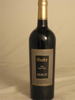 Shafer Napa Valley Merlot 2011 14.9% ABV 750ml