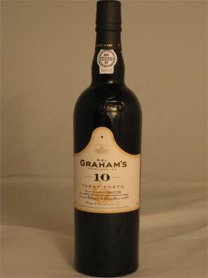 Graham's 10yr Tawny Porto 20% ABV  750ml