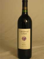 Cakebread Merlot  Napa Valley Rutherford  2010 14.2% ABV 750ml