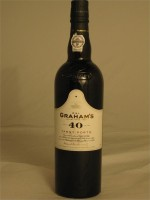 Graham's 40yr Tawny Porto 20% ABV 750ml