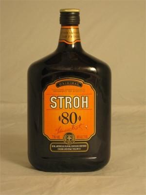 Stroh  80 Austrian Rum 40% ABV 750ml
