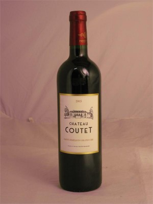 Chateau Coutet Saint-Emilion Grand Cru 2010 13% ABV 750ml