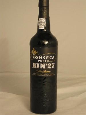 Fonseca Porto Bin No. 27 Finest Reserve 20% ABV 750ml