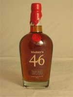 Maker's Mark  46 Kentucky Straight Bourbon Whisky Handmade 47% ABV 750ml