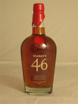Maker's Mark  46 Kentucky Straight Bourbon Whisky Handmade 47% ABV 750ml