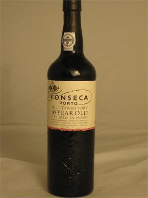 Fonseca Tawny Port 10yr Bottled in 2009 Fonseca Guimaraens Vihnos SA Oporto Portugal 750ml