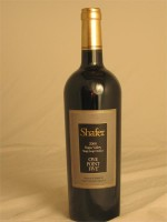 Shafer Cabernet Sauvignon  Stags Leap Napa Valley 2012 15.1% ABV 750ml