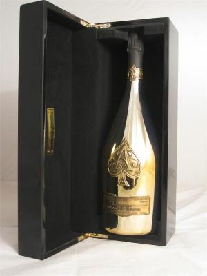 Armand de Brignac Brut Gold Champange Ace of Spades Non Vintage 12.5% ABV 1.5L