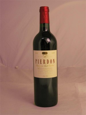 Pierdon  Puisseguin Saint Emilion 2008 13% ABV 750ml
