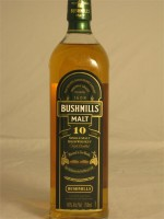 Bushmills  Malt Irish 10yr Single Irish Malt Whiskey 40% ABV 750ml