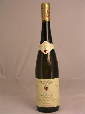 Domaine Zind Humbrecht Pinot Gris Vielles Vignes Alsace  14% ABV 750ml