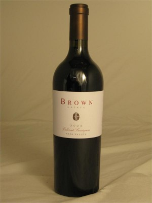 Brown Estate Cabernet Sauvignon 2006 Napa Valley 13% ABV 750ml