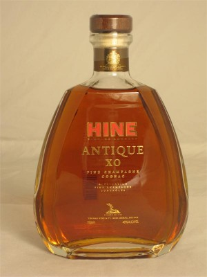 Hine Antique XO Fine Champagne Cognac 40% ABV 750ml
