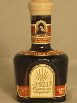 1921 Crema de Tequila Mexico 750ml