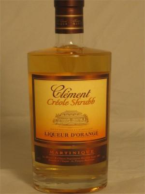 Creole Shrubb Orange Liqueur Creole Clement 750ml